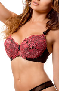 La Furia Push Up BeugelBH Exotic ook in Kleine maten